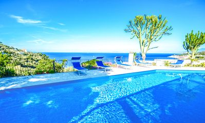 Photo for Family-friendly - apartment--swimming pool- private terrace-parking