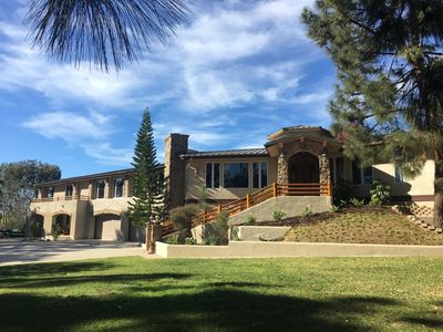 Photo for Custom LODGE EXECUTIVE HOME for Special Events and Rentals in Rancho Santa Fe !
