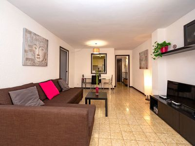 Photo for Beautiful apartment for 3 people with pool, internet, TV and balcony
