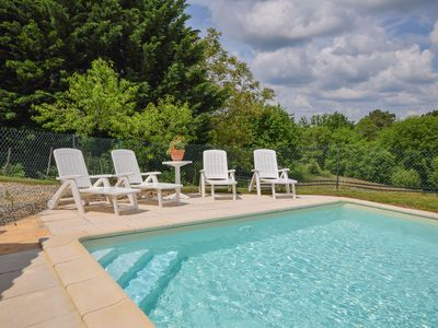 Photo for Lovely Holiday Home with Private Pool in Montcabrier