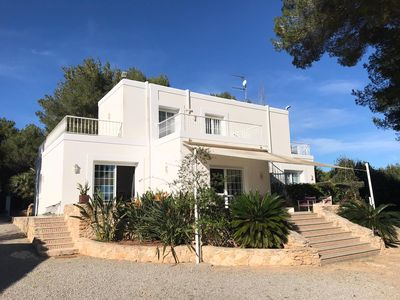 Photo for Holiday villa Can Robles with pool, Ibiza Santa Gertrudis max 10 pers