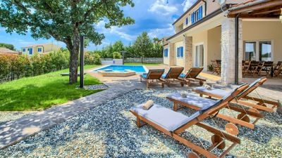 Photo for Beautiful villa with private pool in Istria