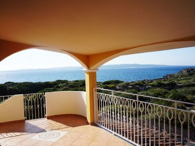 Photo for Cosy Apartment with Terrace & Spectacular Sea View; Parking Available, Pets Allowed