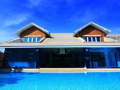 Photo for Dream Villa 4 bedroom with private pool and underground gym