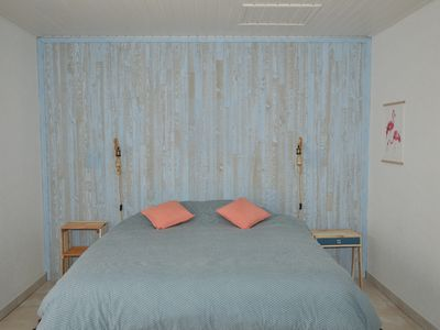 Photo for Bed and Breakfast 2 people Les Herbens. Sea and Countryside. Bear Garlic Room