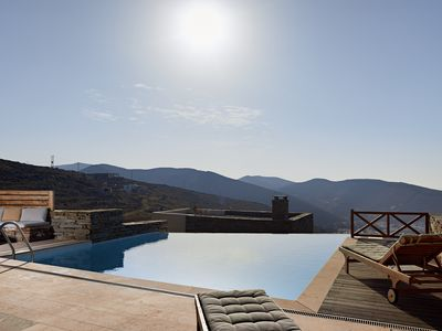 Photo for Gemstone-Stylish Cottage with infinity swimming pool and breathtaking sea views