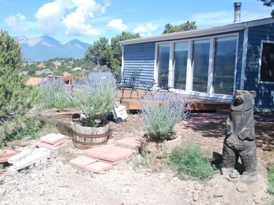 Welcome to our Salida home.  It has the best deck in the valley!