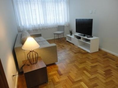 Photo for Pleasant apartment in Ipanema, light and airy.