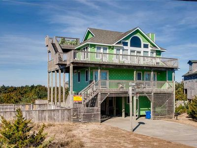 Photo for Semi-Oceanfront w/ Easy Beach Access, One Lot From Ocean! Pool, Hot Tub, Game Rm