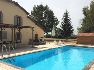 Photo for Luxurious Villa in Cazaubon with Swimming Pool