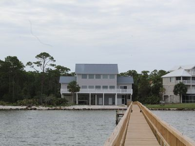 Photo for Bayfront! Private Dock! 6 Bedrooms