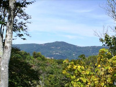 Photo for Cabin with Beautiful Mountain Views on Sugar Mountain