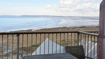Photo for Stunning 3 Bedroom House on Sea Front Overlooking Westward Ho! Beach