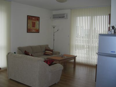 Photo for Spacious 2 bedroom apartment in great location near the main strip Sunny Beach