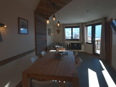 Photo for EPICEA 2 bedrooms 6 pers prestige quiet near esf magnificent view center avoriaz