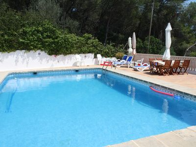 Photo for Jávea Villa 10 pers large swimming pool 1500 € week, between 1/8 and 31/8