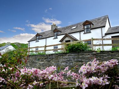 Photo for A large, detached character farmhouse on the owners' working farm just outside Denbigh, in the Clwyd