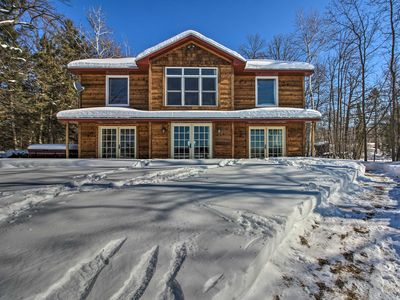 Photo for NEW! Waterfront Home on Long Lake w/Dock & Beach!