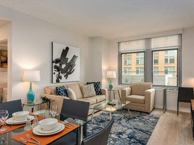 Photo for Lovely 2BR | Rooftop Pool | Arlington/Crystal City | by GLS