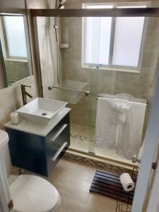 Photo for Private Cabana Suite. Bathrooms and Kitchen located inside House.