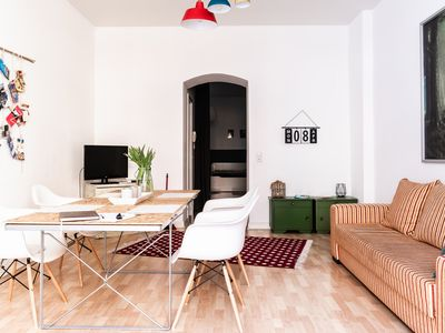 Photo for Apartment in one of the most fashionable districts of Berlin: Friedrichshain.