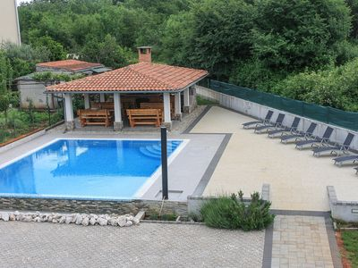 Photo for Arbanas A1, 400m to the beach,4 people,outdoor pool,free WiFi,playground,parking