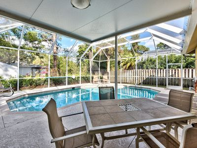 Photo for Vanderbilt Beach Only a Short Walk Away; Private Pool; BBQ, Naples Park!