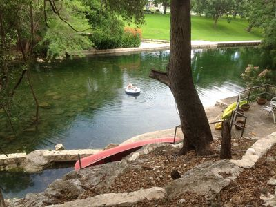 Photo for Cottage on the Comal Springs - Long term rentals