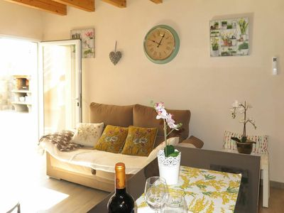 Photo for Lovely apartment for 4 people with WIFI, A/C, TV and balcony
