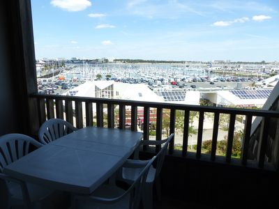 Photo for Sea View and Port des Minimes Studio - Cabin sleeps 4