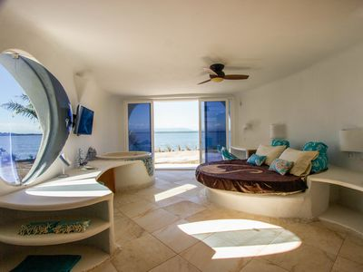 Photo for Amazing, brand-new seafront luxury suite w/ shared pool, beach access