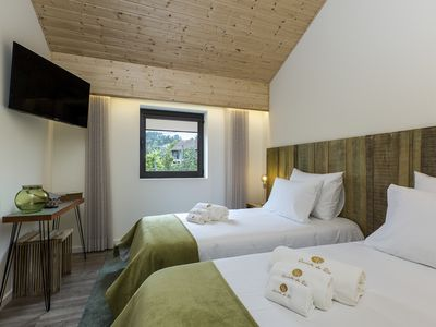 Photo for QUINTA DO RIO - Room (C) -Hotel rural - Restaurant- Small. lunch included