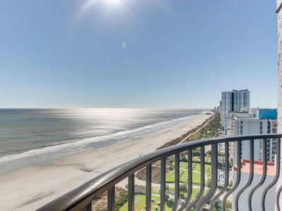 Photo for Beachfront Luxury Condo w Private Balcony/Snowbird Special Rates Available!!!
