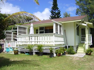 Photo for cottage  200 Steps to Waimanalo Beach