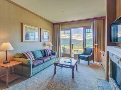Photo for Pair of modern condos w/ beautiful views of the Cascades!