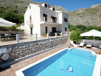 Photo for Contemporary Villa in Dubrovnik with Private pool