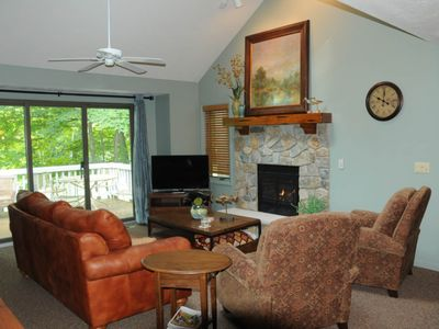 Photo for Lovely home near the slopes w/ shared hot tub, private deck, & spacious design!