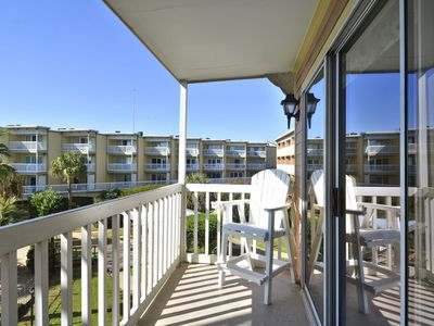 Photo for BC's Beach Condo has the perfect views of the gulf and Waterfall Lagoon pool!
