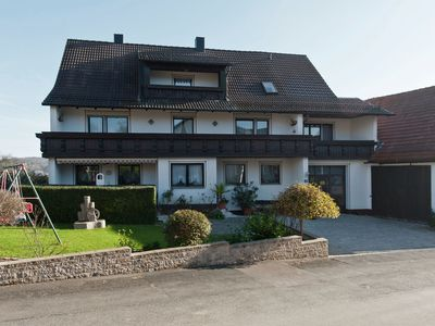 Photo for Bright, family-friendly apartment with balcony in Franconian Switzerland