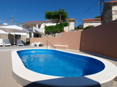 Photo for This 4-bedroom villa for up to 10 guests is located in Razanj/Ražanj and has a private swimming pool
