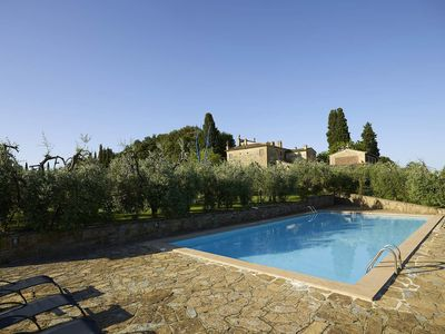 Photo for Villa il Casolare is a luxury villa in the heart of Tuscany, with beautiful views with 7 bedrooms an