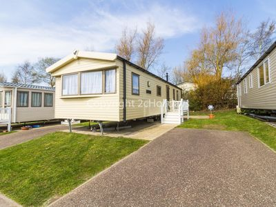 Photo for Luxury caravan 4 hire at Hopton Haven for hire 2 night stays or more ref 80020