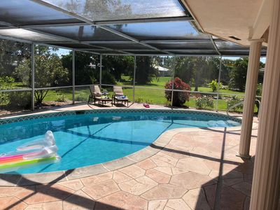 Photo for Beautiful, newly renovated pool-villa in a gated community