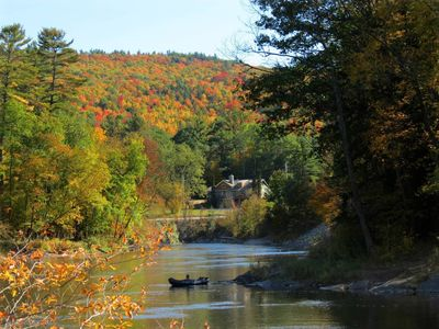 Photo for Picturesque Adirondack Home & Wilderness Property - 7 miles to Lake George