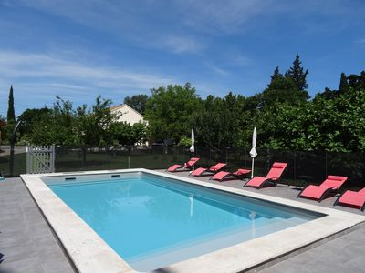 Photo for Gîte any comfort independent in provencal mas, clim, swimming pool, wifi