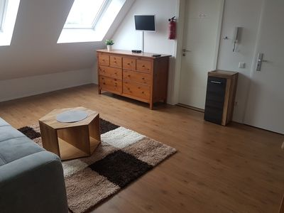 Photo for Complete apartment in Dusseldorf: 45m ² underground close to A4
