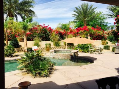 Photo for Huge 4 bedroom with pool, Walk to Coachella/Stagecoach Festivals