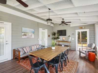 Photo for Sand Marino- Large Screened in Back Porch!