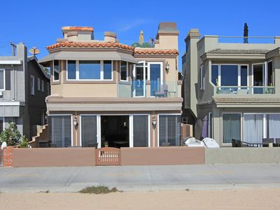 Photo for Luxury Oceanfront Single Family Home! Rooftop Deck! Incredible Views! (68168)