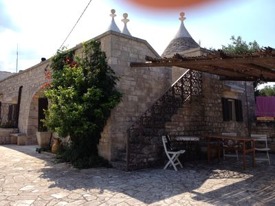 Photo for Trullo Ventura rural house in scenic and quiet